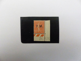 F M  N°  6  NEUF **  COTE  22 € - Franchise Stamps