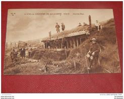 MILITARIA  - DE HAAN -  COQ SUR MER -  Abris Des Huns - Guerre 1914-1918  - - Guerra 1914-18