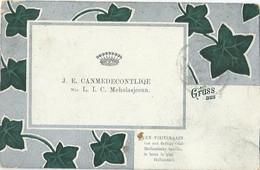 Gruss Aus .... Een Visitekaart Van Een Oud-Hollandsche Familie, Te Lezen In Plat Hollandsch - 1901 - Unclassified