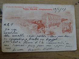TURQUIE : PERA PALACE A CONSTANTINOPLE  ................PK-721 - Türkei