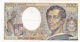 200 Francs   Montesquieu  1992 R  123 - 200 F 1981-1994 ''Montesquieu''
