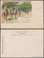 Carte Postale - Fantaisie Bruxelles : Boulevard Du Régent / Publicité : Talpe Fabricant De Chicorée à Roulers - Other