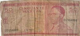 50  Makuta - 1970 - Republik Kongo (Kongo-Brazzaville)