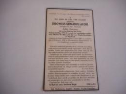 D.P.-OORLOGS VRIJWILLIGER 1914-18-LUDOVICUS GER.JACOBS ADJUDANT DER RIJKSWACHT 2deKLAS BRIGADE BEVELHEBER - Religion &  Esoterik