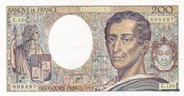 200 Francs   Montesquieu  1992  E134 - 200 F 1981-1994 ''Montesquieu''