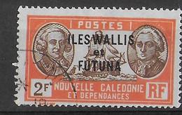 WALLIS E FUTUNA - 1938 - SERIE ORDINARIA - 2 F - USATO ( YVERT 61 - MICHEL 70) - Used Stamps