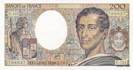 200 Francs   Montesquieu  1992  U124   TTB + - 200 F 1981-1994 ''Montesquieu''