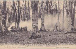 GOURNAY EN BRAY   Exploitation En Forêt   Charbonniers - Gournay-en-Bray