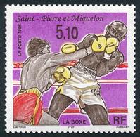 ST-PIERRE ET MIQUELON 1996 - Yv. 625 **   Faciale= 0,78 EUR - Sport : La Boxe  ..Réf.SPM12101 - Unused Stamps