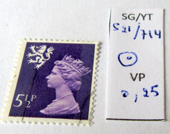 REGIONAL SCOTLAND SG S21 YT 714 USED - Schotland