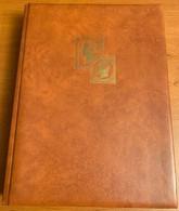 Classeur Couleur Tabac 64 Pages, Couverture Ouatinée - Formato Grande, Fondo Negro