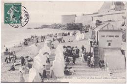 35. SAINT-MALO. La Grève De Bon-Secours à Marée Haute - Saint Malo