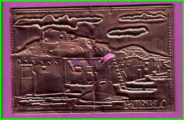 PUEBLO - The Pueblo Ville Village  - Carte Plaque Cuivre -  - Salt Lake City Utah - Otros