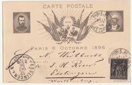 SOUVENIR DE LA VISITE DU TSAR NICOLAS II PARIS 1896 - Zonder Classificatie