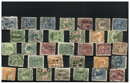 (stamp 16-11-2020) China (33 Used Stamps) - Sonstige