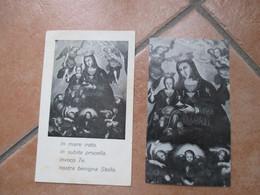 Parrocchia S.Maria Di Portosalvo Torre Del Greco Napoli Benigna Stella N.2 Differenti - Devotion Images