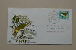 Australia 1964 FDC Thornbill Bird Oiseau Australie - Pájaros Cantores (Passeri)