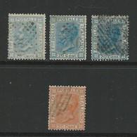 Regno D'Italia 1867 /77 -  Effige Vittorio Emanuele II - N. L26 + T26 (2) + 28 Usati - Cat. 15 € - L. 1958 - Oblitérés