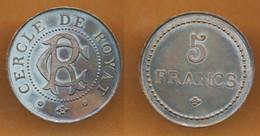 JETON // ROYAT (63) // CERCLE // 5 Francs - Casino