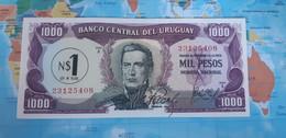 URUGUAY 1 NUEVO PESO 1975 P 54 UNC SC - Uruguay