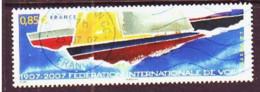 2007. France.International Sailing Federation 1907-2007. Mi. Nr. 4258. - Gebraucht