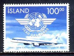 Iceland 1994 Islandia / Aviation Aircrafts Airplanes MNH Aviación Aviones Luftfahrt / Hd22  5-16 - Aviones