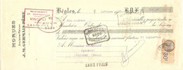 TRAITE 1933 - BEGLES J. M. GERMAIN PERE MORUES MORUE  - LECTOURE GERS - Agricultura