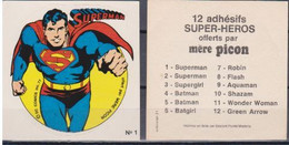 Autocollant - MERE PICON - Superman N°1 - DC Comics- 1977 - Altri Oggetti Fumetti