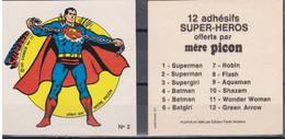 Autocollant - MERE PICON - Superman N°2 - DC Comics- 1977 - Altri Oggetti Fumetti