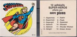 Autocollant - MERE PICON - Supergirl N°3 - DC Comics- 1977 - Altri Oggetti Fumetti