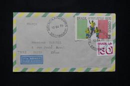BRÉSIL - Enveloppe De Sao Paulo Pour La France Par Avion En 1975 - L 77889 - Cartas