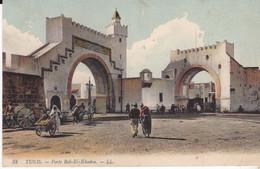 CPA TUNIS PORTE BAB EL KHADRA - Tunisia