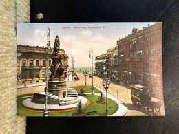 Odessa Monument Catherine II Granberg  Issue Postcard Printed 1910th - Russia