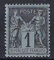 FRANCE 1877: Le Y&T 83 Neuf** - 1876-1898 Sage (Tipo II)