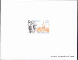 France épreuve De Luxe N° 2657 Abbaye De Cluny - Pruebas De Lujo