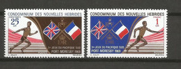 Timbre Colonie Française Nlle Hébrides Neuf ** N 282 / 283 - Unused Stamps