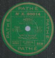 """57 ) 78 Tours 30cm  PATHE 203136  """" FAUST """"  + """" LE BARBIER DE SEVILLE """"  André BAUGE - 78 G - Dischi Per Fonografi"""