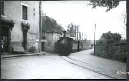 19 Corrèze - Cliché Pérève - Train Spécial F.AC.S. - Mai 1958 - Marcillac - Voir 2 Scans - Trains