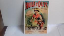 PUB .Huile D'olive Supérieure. Union Des Propriétaires De Nice (S46-20) - Publicité