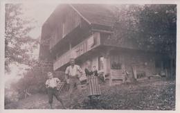 Homberg BE B. Thun , Famille Devant La Ferme  Photo 1934 (7.1.35) - BE Berne