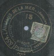 """60 ) 78 Tours 30cm  PATHE 13  """" L'ANGELUS DE LA MER """"  + """" LA CHANSON DES PEUPLIERS """"  WEBERT - 78 G - Dischi Per Fonografi"""