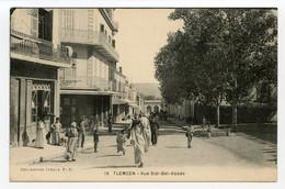 4/ CPA TLEMCEN  19 Rue Sidi Bel Abbès   Collection Idéale - Tlemcen