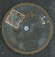 "62 ) 78 Tours 30cm  PATHE 3663  "" MES ROSES ""  + "" CHANSONS... VISAGES ! ""  G. VORELLI - 78 G - Dischi Per Fonografi"