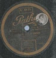 """63 ) 78 Tours 30cm  PATHE 3663  """" LE GRI GRI D'AMOUR """"  + """" LES CHANTEURS DE COURS """"  MISTINGUETT - 78 G - Dischi Per Fonografi"""