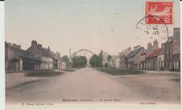 BALLEROY (14) -  La Rue Du Sapin - Bon état - Otros Municipios