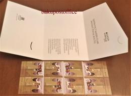 CEPT Ancient Postal Routes EUROPA EUROPE 2020 Azerbaijan Stamps Type 3 WITH COVER - Azerbaïdjan