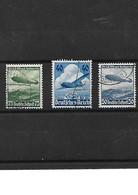 1029 -ALLEMAGNE-III REICH  1936 Poste Aérienne YT 54-55-56 - LUFTHANSA - ZEPPELIN Oblitérés - Luchtpost
