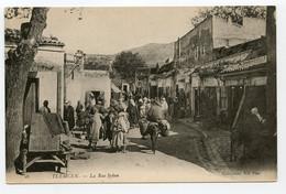 12/ CPA TLEMCEN  16 La Rue Syken  ND Phot - Tlemcen
