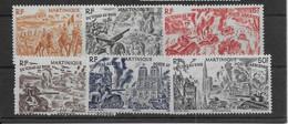 Martinique Poste Aérienne N°7/12  - Neufs ** Sans Charnière - TB - Poste Aérienne