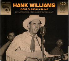 Hank WILLIAMS - Eight Classic Albums - 4 CD - Country & Folk